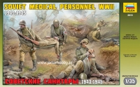 Zvezda 3618 1/35 Soviet Medical Personnel WWII 1943-1945