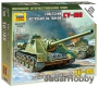 Zvezda 6211 1/100 Self-propelled Gun SU-100
