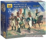 Zvezda 6816 1/72 French Line Infantry: Command Group (1812-1815)