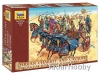Zvezda 8008 1/72 - Persian chariot and cavalry IV ...
